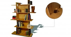 The Collapsible Bookshelf